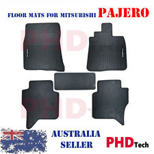 Pro All Weather Rubber Car Floor Mats MITSUBISHI PAJERO NS NT NW NX 2006-2018