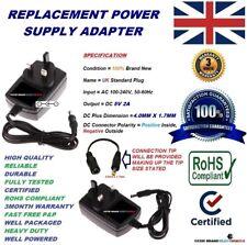 Compatible con Reino Unido 5 V AC/DC adaptador de alimentación para Archos AV500E AV700 AV700E DVR Móvil