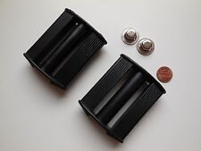 ERTL TOY PEDAL TRACTOR REPLACEMENT BLACK PLAIN PEDALS