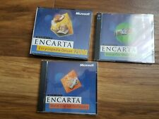 PC CD-ROM Microsoft Encarta 2000 UK &Ireland Edition(6x CDs)
