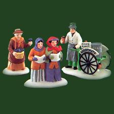 Dept 56 Dickens Village ~ Violet Vendor/Carolers/ Chestnut Vendor ~ Mib 55808