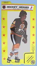 HOCKEY HEROES VINTAGE 1975 BOBBY ORR STAND-UP SPORTROPHY PIN-UP BRUINS HOF RARE