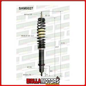 SAM0027 COPPIA AMMORTIZZATORI ANTERIORI MICROCAR AIXAM MEGA TRUCK D 400 2012 ->