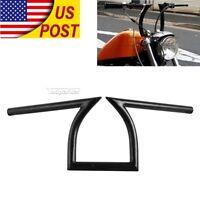 "1"" Z Handlebar Drag Bar For Honda Shadow Aero Phantom VLX VF VT 600 750 1100 TOP"