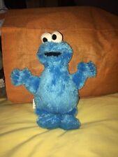 "Cookie Monster Plaza Sésamo 10"" Blanda Juguete en muy buena condición"