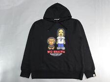 21769 bape  baby milo × wiz khalifa pullover hoody black L