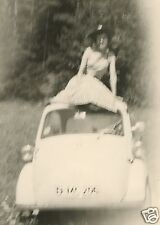 VINTAGE ARTISTIC ABSTRACT SPIDER DADDY LONG LEGS ODD EXPOSURE BMW ISETTA PHOTO