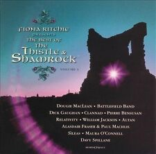 THE BEST OF THE THISTLE & SHAMROCK - New CD - Dougie MacLean, Clannad, Altan