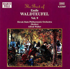WALDTEUFEL: The Best of Emile Waldteufel, Vol.  9, New Music