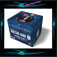 DOCTOR WHO SERIES SEASONS - 1 2 3 4 5 6 & 7  *** BRAND NEW BLURAY BOXSET**