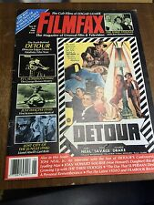 "Filmfax Magazine # 11 July 1988 ""Detour"" Front Cover"