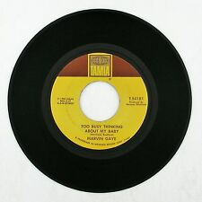 MARVIN GAYE Too Busy Thinking About My Baby/Wherever I Lay..7IN (NORTHERN) VG++
