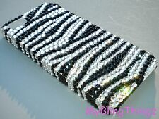 ZEBRA Crystal Rhinestone Back Case for Samsung Galaxy S4 with Swarovski Elements