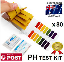 PH Litmus Test kit Paper Urine Saliva Acid Alkaline x 80 Strips - Aquarium Tank