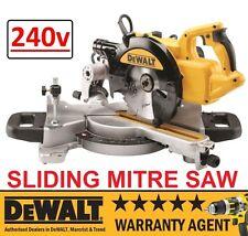 DeWALT DWS773 240V 216mm SLIDING CROSSCUT MITRE SAW RW