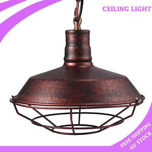 Rustic Industrial Ceiling Light Pendant Lamp Shade Vintage Restaurant Cafe Bar