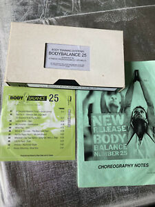 Les Mills Body Balance 25 VHS Video & CD Complete Home Workout