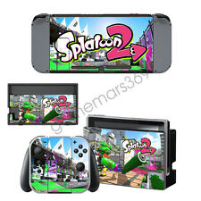 For Nintendo switch Sticker Console Controllers Decals Stickers Splatoon 2