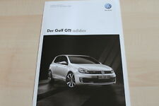132997) VW Golf GTI adidas - Preise & tech. Daten & Ausstattungen - Prospekt 07/