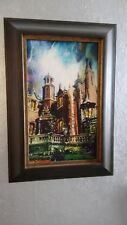 More details for disney haunted mansion artist proof painting giclee by jim salvati