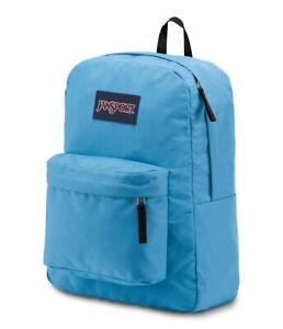 Jansport SUPERBREAK Coastal Blue Backpack Shool Bookbag