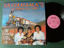 "LOS GARCIA : LA COLEGIALA 12"" Maxi 33T VOGUE 338 002 CUMBIA advert Nescafé"