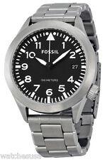 Fossil AM4562 Aeroflite Black Dial Stainless Steel Men's Watch