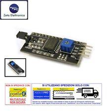 MODULO IIC / I2C ADATTATORE INTERFACCIA PER DISPLAY LCD 1602 SERIALE ARDUINO ECC
