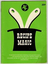 60s Cook book Recipe Magic P Winter House of Herbs Salisbury Connecticut Booklet