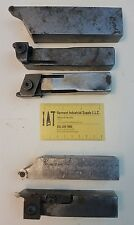 TURNING TOOLS CARBIDE INSERT LATHE CUTTING QTY 5 SLITTING GROOVING TOOLHOLDING