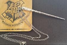 Ron Weasley. Varita Collar-Harry Potter Colgante-Joyería-Color Plata Cadena
