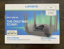 Linksys EA8250 Max-Stream Tri-Band AC2150 Wi-Fi 5 Router