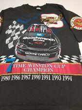 "VTG Sports Image DALE EARNHARDT ""SEVEN TIME Winston Cup Champion"" XL T-Shirt"
