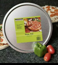 "(2) Cooking Concepts Bakeware Steel Pizza Pan 12"" Inch Pie Pizza 🍕 Free Ship"