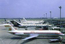 Iberia Airways McDonnell Douglas DC-9-32 EC-BQY at London Heathrow UK Postcard