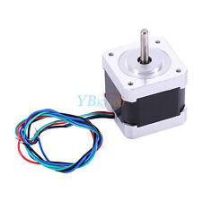 1.8 Degree NEMA17 42mm 2 Phase 4-wire Stepper Motor For 3D Printer CNC Robot New