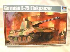 1/35 Trumpeter German Krupp E 75 5.5 cm Twin Gun Falkpanzer AA Gun # 1539