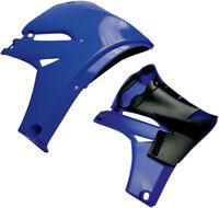 Cycra Blue PowerFlow Radiator Shrouds Scoops (Pair) For Yamaha YZ 450 F 10-13