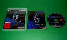 Resident Evil 6 USK 18 mit Anleitung und OVP fuer Sony Playstation 3 PS3