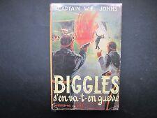 COLLECTION CAPTAIN W.E.JOHNS BIGGLES S'EN VA-T-EN GUERRE 1950 BE