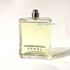 CoSTUME NATIONAL HOMME EDP 100 ML PROFUMO SPRAY 3.4 FL.OZ UnBoxed-Senza Scatola