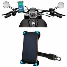 Motorcycle MTB Bicycle Handlebar Mobile Phone I-Pod Mount Holder For Yamaha
