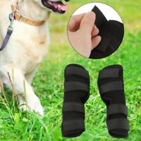 Pet Dog Knee Support Brace Leg Wrap Straps Hock Protector Rear For Leg Injury