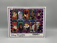 Disney Villains Jigsaw Puzzle Collage Ceaco 1500 Pieces New