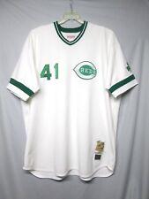 MLB Cincinnati Reds Tom Seaver Mitchell & Ness St. Pat's Jersey Size 5XL
