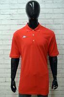 Polo Maglia KAPPA Uomo Taglia Size XXL Maglietta Camicia Shirt Man Manica Corta