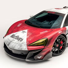 Vorsteiner 570-VX Front Bumper with Front Carbon Fiber Spoiler fits McLaren 570S