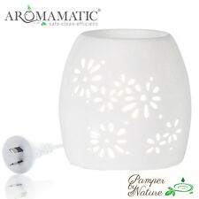 Natural White Multi-Light Essential Oils & Wax Melt Electric-Vaporizer