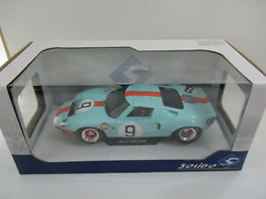 FORD GT40 #9 LE MANS 1968 SOLIDO 1/18