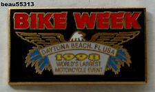 1998  DAYTONA BIKE WEEK FLORIDA WORLDS LARGEST MOTORCYCLE EVENT JACKET VEST PIN
